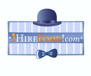 iHireFood.com Logo - Entry #146