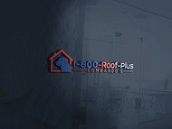 1-800-Roof-Plus Logo - Entry #131
