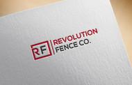Revolution Fence Co. Logo - Entry #143
