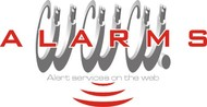 Logo for WebAlarms - Alert services on the web - Entry #109