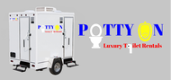 Potty On Luxury Toilet Rentals Logo - Entry #48