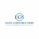 Elite Construction Services or ECS Logo - Entry #357