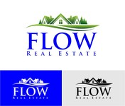 Flow Real Estate Logo - Entry #69