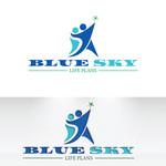 Blue Sky Life Plans Logo - Entry #12