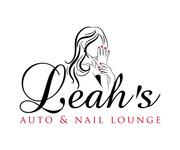 Leah's auto & nail lounge Logo - Entry #73