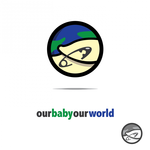 Logo for our Baby product store - Our Baby Our World - Entry #107