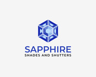 Sapphire Shades and Shutters Logo - Entry #102