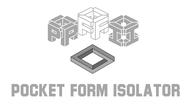 Pocket Form Isolator Logo - Entry #71