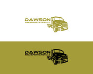 Dawson Transportation LLC. Logo - Entry #278