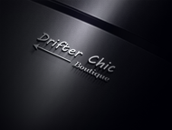 Drifter Chic Boutique Logo - Entry #194