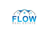 Flow Real Estate Logo - Entry #63