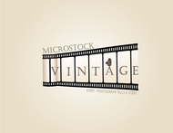 Vintage Microstock Logo - Entry #45