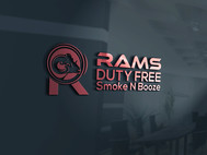 Rams Duty Free + Smoke & Booze Logo - Entry #249