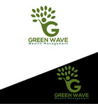 Green Wave Wealth Management Logo - Entry #110