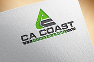 CA Coast Construction Logo - Entry #87
