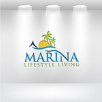 Marina lifestyle living Logo - Entry #108