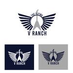 The Flying V Ranch Logo - Entry #14
