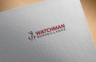 Watchman Surveillance Logo - Entry #287