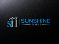 Sunshine Homes Logo - Entry #368