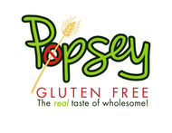 gluten free popsey  Logo - Entry #165
