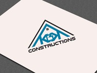KBK constructions Logo - Entry #60