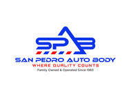 San Pedro Auto Body Logo - Entry #121