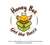 Honey Box Logo - Entry #4