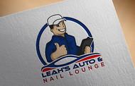 Leah's auto & nail lounge Logo - Entry #137