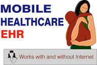 Mobile Healthcare EHR Logo - Entry #108