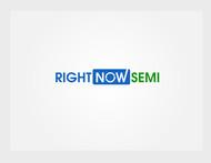 Right Now Semi Logo - Entry #5