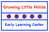 Growing Little Minds Early Learning Center or Growing Little Minds Logo - Entry #127
