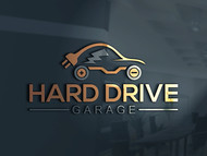 Hard drive garage Logo - Entry #118