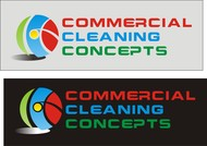 Commercial Cleaning Concepts Logo - Entry #107