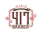 417 Barber Logo - Entry #50