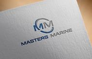 Masters Marine Logo - Entry #340
