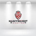 Heavyweight Jiujitsu Logo - Entry #185