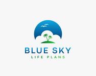 Blue Sky Life Plans Logo - Entry #417