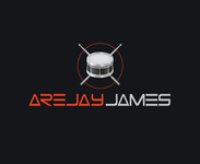 arejay james Logo - Entry #48
