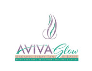 AVIVA Glow - Organic Spray Tan & Lash Logo - Entry #30