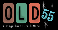 """""""OLD 55"""" - mid-century vintage furniture and wares store Logo - Entry #200"""