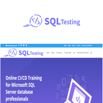 SQL Testing Logo - Entry #456