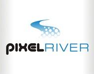Pixel River Logo - Online Marketing Agency - Entry #177