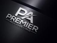 Premier Accounting Logo - Entry #113