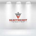 Heavyweight Jiujitsu Logo - Entry #158