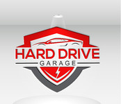 Hard drive garage Logo - Entry #128