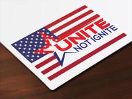 Unite not Ignite Logo - Entry #245
