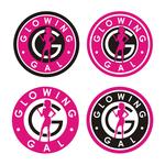 Glowing Gal Logo - Entry #85