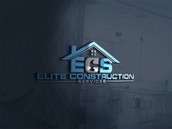 Elite Construction Services or ECS Logo - Entry #91