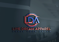 LiveDream Apparel Logo - Entry #81