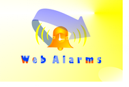 Logo for WebAlarms - Alert services on the web - Entry #38